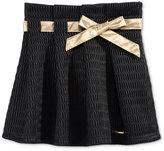 Sean John Bow Belted Pleated Skirt, Big Girls (7-16)
