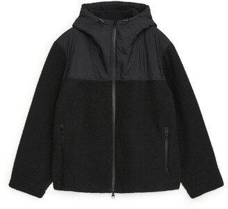 Arket Hooded Fleece Jacket