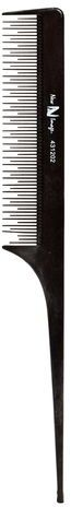 New Image Carbon Rattail Tease Comb