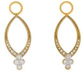 Jude Frances Diamond Earring Enhancers w/ Tags