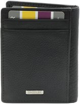 SADDLER Gents Soft Nappa Front Pocket Wallet with Magnetic Money Clip