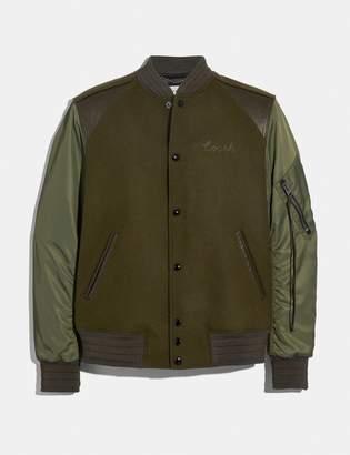 Coach Ma-1 Varsity Jacket