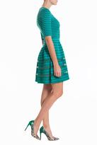 M Missoni 3/4 Length Sleeve Dress