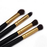 Lookatool® 4Pcs Makeup Cosmetic Tool Eyeshadow Powder Foundation Blending Brush Set