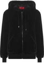 HUGO Fionas 1 Fur Bomber Jacket