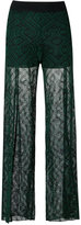 Cecilia Prado knitted pants - women - Acrylic/Lurex/Viscose - P