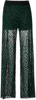 Cecilia Prado knitted pants - women - Viscose/Acrylic/Lurex - P