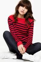 Zadig & Voltaire Reglis Stripes Cashmere Sweater