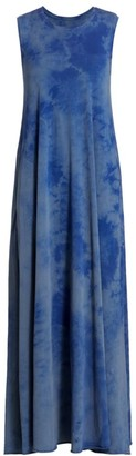 Raquel Allegra Tie-Dye Maxi Dress