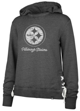 '47 Women's Pittsburgh Steelers Lace Up Hoodie