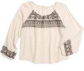 Miss Me Embroidered Top (Big Girls)