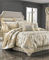 J Queen New York J. Queen 4-Pc. New York Rialto King 4-Pc. Comforter Set