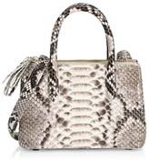 Nancy Gonzalez Mini Nix Python Top Handle Bag