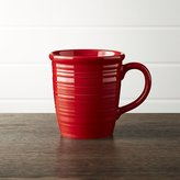 Crate & Barrel Farmhouse Red Mug