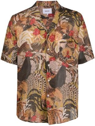 Nanushka Le Coq bowling shirt