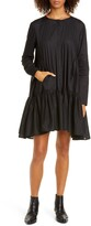 Merlette New York Martel Long Sleeve Cotton Tunic Dress