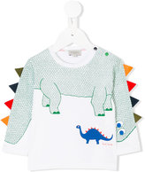 Paul Smith dinosaur print top - kids - Cotton/Polyester - 12 mth