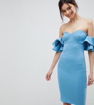 Bardot City Goddess Tall Midi Dress