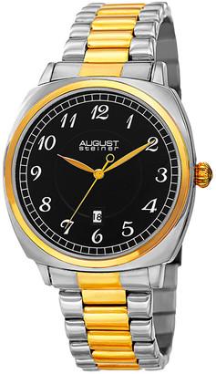 August Steiner Stainless Steel Watch