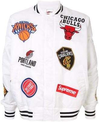 Supreme Nike/NBA Teams jacket