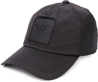Emporio Armani Logo Embossed Baseball Cap