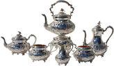 One Kings Lane Vintage English Tea Set, C. 1860, 7 Pcs