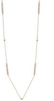 BETTINA JAVAHERI Barre Metro Two-Sided Diamond Necklace