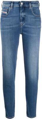 Diesel Slandy high-waist skinny jeans