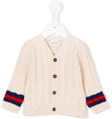 Gucci Kids cable-knit cardigan