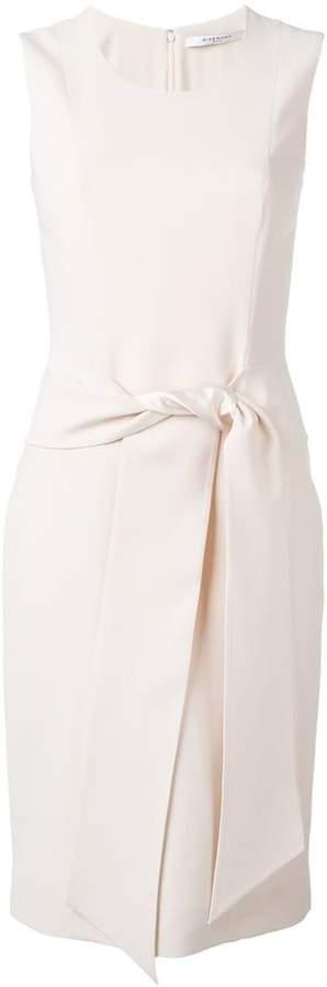 Givenchy waist-tie shift dress