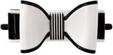Smallflower Moliabal Milano Black + White Bow Hair Tie