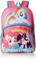 My Little Pony Girls' Fabulous Friends inch Backpack