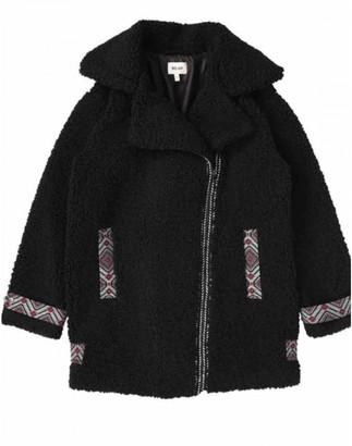 Bel Air Black Wool Coats
