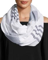 Michael Stars Oceanside Striped Eternity Scarf