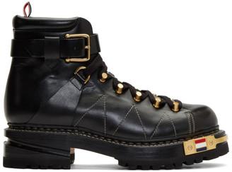 Thom Browne Black Hiking Boots