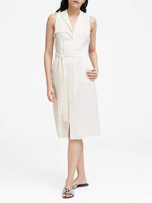 Banana Republic TENCEL Trench Dress