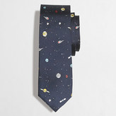 J.Crew Factory Printed silk tie