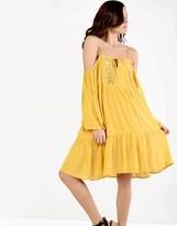 Glamorous Cold Shoulder Smock Dress
