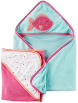 Carter's 2-Pk. Hooded Fish Towels Set, Baby Girls (0-24 months)