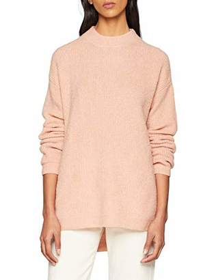 SPARKZ Women's Liepa Pullover Loose Fit Plain Round Collar Long Sleeve Jumper,(Manufacturer Size:M)