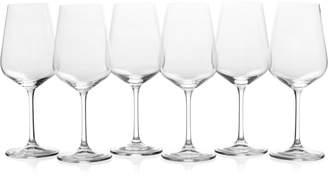 Mikasa Gianna 6-Piece Crystal Wine Glass Set
