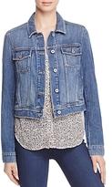 Paige Vivienne Denim Jacket in Medium Blue