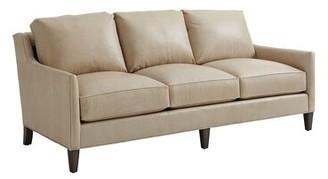 """Lexington Ariana Genuine Leather 83"""" Square Arm Sofa"""