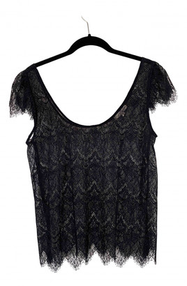BA&SH Black Lace Tops