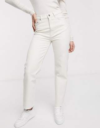 And other stories & utility straight leg jean in ecru