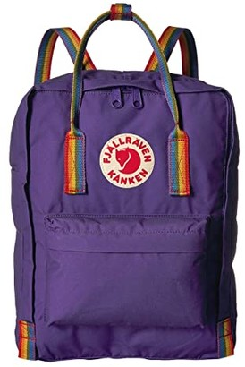 Fjallraven Kanken Rainbow (Purple/Rainbow Pattern) Backpack Bags