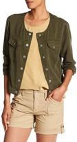 Sanctuary Crop Button Jacket