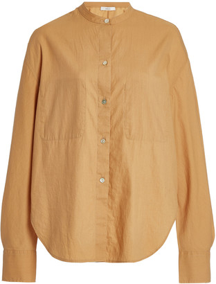 Vince Cotton-Silk Utility Shirt