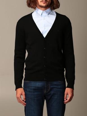 Emporio Armani Sweater Cardigan In Virgin Wool