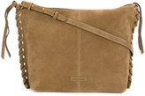 Isabel Marant Osun suede shoulder bag - women - Cotton/Calf Leather - One Size